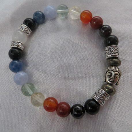 Buddha chakra bracelet