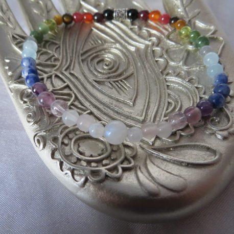 fine chakra bracelet