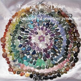 Kathryn Jane Design for handcrafted pendant