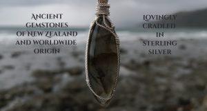 ancient gemstones in sterling silver